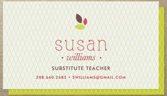 Sample substitute teacher business card laura smith pinterest substitute teacher business card template submit a yellow substitute albino firefish arthurs flashek Gallery