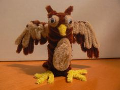 owl - pipe cleaners