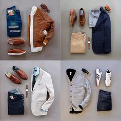 Saturday night recap is a little late due to me doing taxes today . Since today is the last day of March I figured I'd post the most liked flatlays of the month. Which one is your favorite? Tomorrow I will be wearing the Easter combo you all voted for. #runnineverlong #perryellis #jachsny #34heritage #katobrand #adidas #loyalcollective #danielwellington #martindingman #otaa #menofotaa #fossilstyle #plrbclothing #thatsit #bluffworks #bluffon #trafalgarstore #grantstone