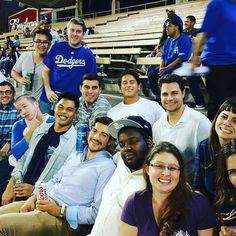THINK BLUE: Work flow! @chownow outing! Company that plays together succeeds together!!! #startuplife #playavista #latech #chownow #family #work #workflow #baseballgame #dodgerstadium #dodgers #funtimes by yanoskymer