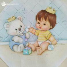 Baby Cartoon, Fabric Painting, Cartoon Drawings, Safari, Stencils, Baby Boy, Teddy Bear, Toys, Animals