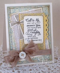 by Maureen Plut - Verve Stamps Inspiration Gallery
