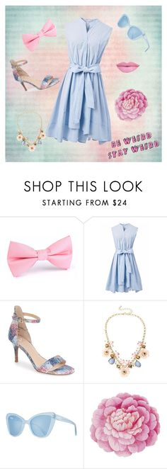 """""""Stay Weird"""" by otakutwins1 ❤ liked on Polyvore featuring Chicwish, BP., Anastasia Beverly Hills, Mixit, Prism and Ballard Designs"""