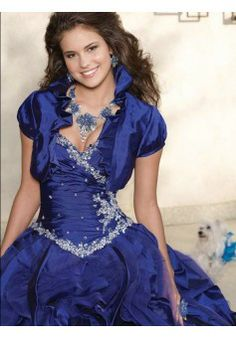 2014 New Style Ball Gown Sweetheart Sleeveless Floor-length Taffeta Quinceanera  Dress - Quinceanera Dresses - Special Occasion Dre. 625fd7248165