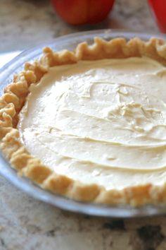 Fresh Peaches and Cream Pie Fresh Peach Recipes, Fresh Peach Pie, Flavored Cream Cheeses, Cream Cheese Pie, Summer Desert Recipes, Peach Cream Pies, Ice Cream, Pie Dessert, Dessert Recipes