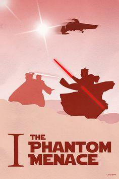 The Phantom Menace Poster by ~Loweak on deviantART