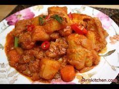 Spicy Chicken BokkEumTang,  닭 볶음탕, Dak BokkEumTang