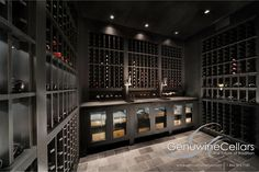 Contemporary | Wine Cellar | Design | Dream Home | Luxury | Wine www.genuwinecellars.com