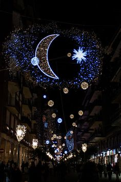 Luminarie natalizie a Salerno