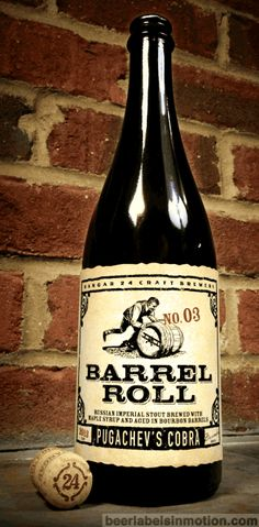 Pugachev's Cobra is a Russian Imperial Stout and is the 3rd entry in Hangar 24 Craft Brewery's Barrel Roll series. To say this beer is rich and complex is an understatement. I tasted thick notes of...