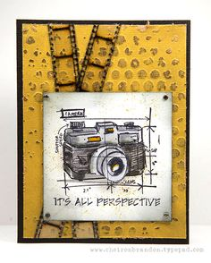 Created by Cheiron using Tim Holtz Exclusives by Simon Says Stamp STAMPtember
