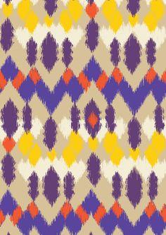 pattern by Minakani #minakani #pattern #ikat #ethnic