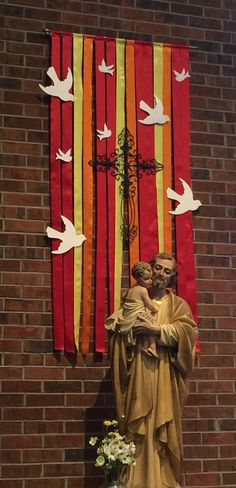 Pentecost and confirmation banners