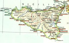 Historical places of Sicily