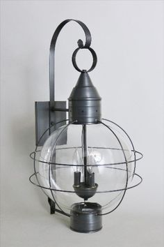 Brass Traditions Lighting 601 Three Light Wall Mount Onion Lantern in Gun Metal finish  #brasstraditions #CTmade #handcrafted #solidbrass #outdoorlighting #classic #coastal #antiquestyle #exterior #onionlight #modern #farmhousestyle #weatheredgray #porchlight #traditional #newengland #colonialstyle #onion #wall #lantern #nautical #cottagestyle #walllight #modernfarmhouse #made2order #lightingfixture #supportsmallbiz #Americanmanufacturer #buylocal #buyhandmade #madeinUSA #Americanmade #lights Coastal Lighting, Porch Lighting, Outdoor Lighting, Outdoor Wall Lantern, Outdoor Walls, Wall Lights, Ceiling Lights, Metal Finishes, Candelabra
