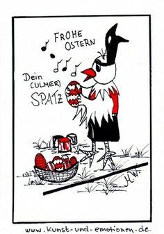 Happy Easter - Frohe Ostern - www.kuns-und-emotionen.de