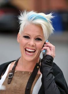P!nk with Blue Hair....Gorgeous!!