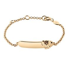 Links of London Little Miss Sunshine 18ct Gold ID Bracelet - engrave a special date, name or message to personalise!
