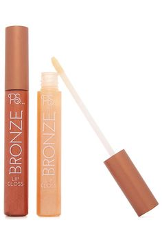 bronze lipgloss