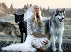 """Isabel Lucas wearing Chanel in Angus Stone's music video for """"Bird on the Buffalo."""""""