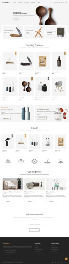Outstock is Premium full Responsive #Magento 2 Theme. #Bootstrap4Framework. Retina Ready. If you like this eCommerce Theme visit our handpicked list of best Magento #FurnitureThemes at: http://www.responsivemiracle.com/best-responsive-magento-furniture-themes-2018/