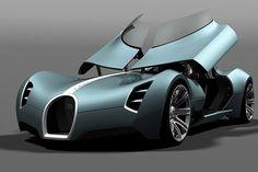 Bugatti Aerolithe Concept for 2025