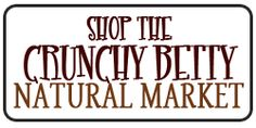 Crunchy Betty's Natural Market on Etsy