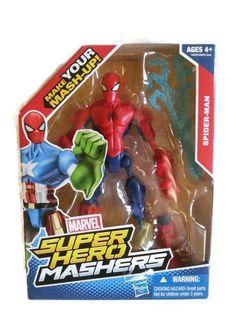 Marvel Super Hero Mashers, Spider Man #Hasbro #marvel #superhero #spiderman #LYLACS_4U