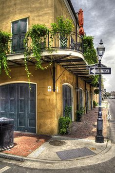 corner of St. Louis and Bourbon in the New Orleans French Quarter - photo by Greg and Chrystal Mimbs