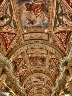 Ceiling at the Venetian Hotel, Las Vegas
