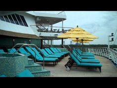 Serenity Adults Only Area on the Carnival Fascination