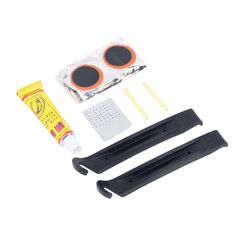 1set Cycling Bicycle Bike Repair Fix Kit Flat Rubber Tire Tyre Tube Patch Glue  Hot New Arrival free shipping