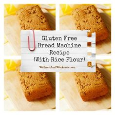 I LOVE the smell of this Gluten Free Bread Machine Recipe with Rice Flour as it bakes! Click now to see the Recipe.