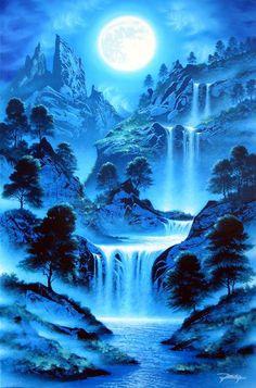 Cute Galaxy Wallpaper, Night Sky Wallpaper, Anime Scenery Wallpaper, Landscape Wallpaper, 3d Animation Wallpaper, Fantasy Art Landscapes, Fantasy Landscape, Landscape Art, Beautiful Landscapes