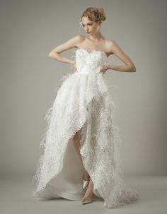 Best of the Bridal Ball gowns - Wedding Dress Trends 2014 Wedding Dress Gallery, Wedding Dresses 2014, Designer Wedding Dresses, Bridal Dresses, Wedding Gowns, Wedding Attire, Wedding Hair, Elizabeth Fillmore, Perfect Wedding Dress