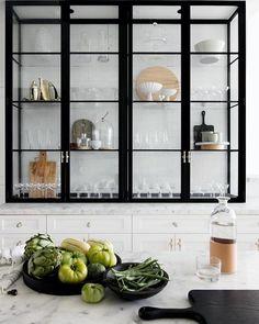 Vitrinas Para Cocina | 115 Mejores Imagenes De Vitrinas Para La Cocina En 2019 Cabinets