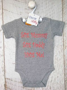 Personalised baby clothing - rompers, tee-shirts, singlet's, name king sets, and tees (long sleeve and short) brought to you by Mi Emporium. Long Sleeve And Shorts, Personalized Baby, Daddy, Tee Shirts, Rompers, Babies, Clothing, Cute, Kids