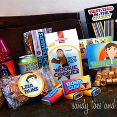 """""""Best Dad in the Galaxy""""  Star Wars Kit  Amazing Awesome Care Package idea!!"""