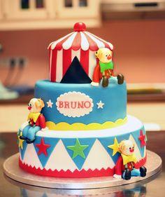 Tarta circo / Circus cake