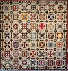 Each year, the Springville Museum of Art (Utah) has one of the best quilt shows around. It features award-winning quilts from Utah, a stat. Scrappy Quilts, Quilting, Cross Quilt, Country Quilts, House Quilts, Thread Painting, Grid Design, Book Quilt, Quilt Patterns Free