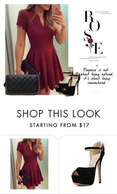 """""""Romwe"""" by fatimka-becirovic ❤ liked on Polyvore"""