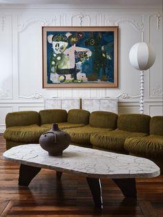 Paris Flea Markets, Contemporary Design, Ottoman, Couch, Chair, Antiques, Table, Furniture, Instagram