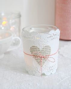valentine candle by the style files, via Flickr