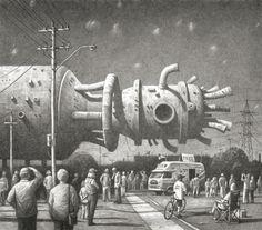 Amnesia Machine - Tales from a diverse universe by Shaun Tan