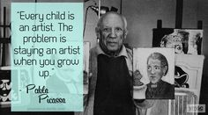 Dianna Agron's You Me & Charlie - Pablo Picasso quote