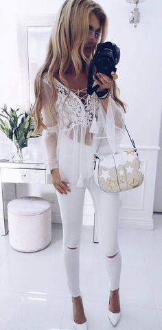 all white everything