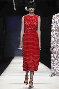 Fendi Ready To Wear Spring Summer 2014 Milan - NOWFASHION