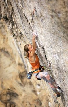 Our climbing ambassadress Aleksandra Przybysz on China Climb, 5.14b. Photo: Alex Reshikov