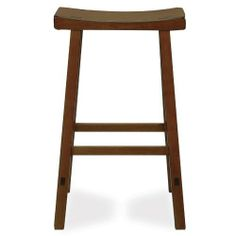 International Concepts 1S43-683 29-Inch Saddle Seat Barstool, Rustic Oak by International Concepts. $50.14. No assembly required. Made from solid wood. Your home is a natural extension of you. Add these innovative designs from International Concepts to spruce up any decor.