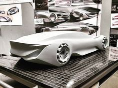 Mercedes-Benz six-passenger concept by Darby Barber